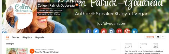 joyful vegan podcasts