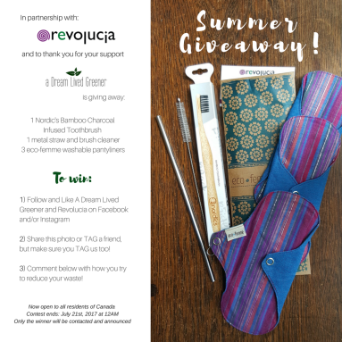 NEW revolucia zero waste summer giveaway ottawa-5